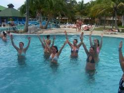 water arobics... so much fun