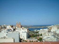 View from Rooftop - Solana Hotel