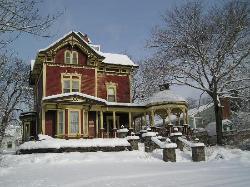 Ashlea House after a snow storm