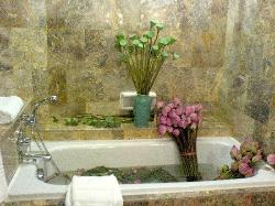 Bath tub for our Real Lotus Flowers (Props)