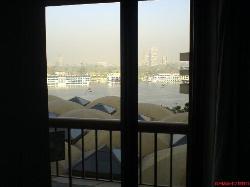 Room 219 - Nile view from balcony door