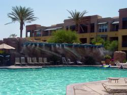 Misters by the Pool
