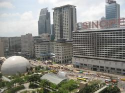plaza view