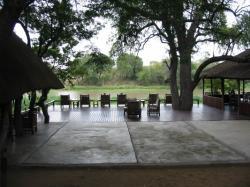 The deck at Gomo Gomo
