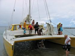 Catamaran - to Nevis and snorkeling
