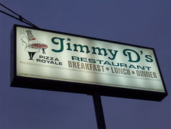 Jimmy D's Pizza Royale