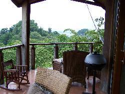 Balcony of One Bedroom Villa