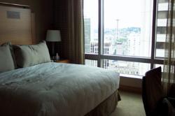 bedroom of exec. suite