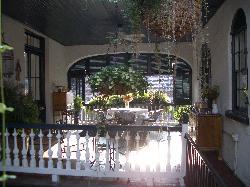 Upstairs breakfast area