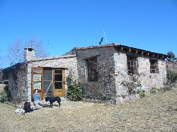 The cabin in the hills