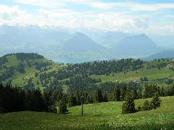 View from Mt Rigi