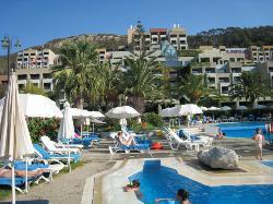 pool at Hilton
