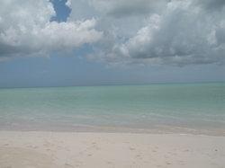 A view the 2.5 mile beach