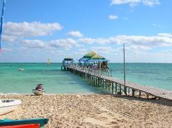 This is the beach bar