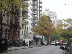 View of street looking left
