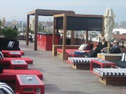 Rooftop Terrace with Loungers