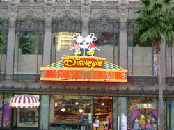 Disney Studio Store & Ghirardelli Soda Fountain