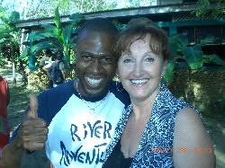 me and Maximo the river boat host