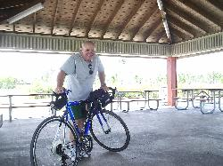 Me on a bike ride in the park