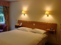 Room and bed (standard lodge)