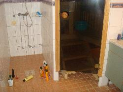 Shower & Sauna Room
