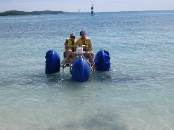 3-wheeled water tricycle
