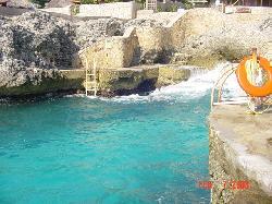 beautiful blue water