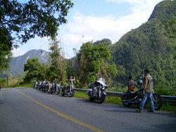 Nicky's Handlebar Harley Tour