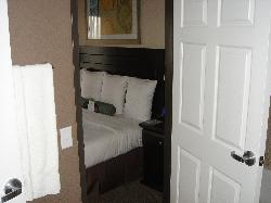 1 BR Suite - Addt'l bedroom shot from bathroom