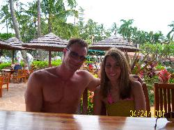 the cabana near the pool is nice