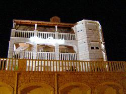 Villa Curic by night