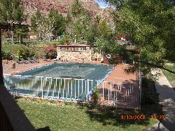 Pool closed until April, hot tub open year round