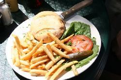 Burger at the Red Ocotillo
