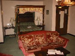 Bed in Seckford Room