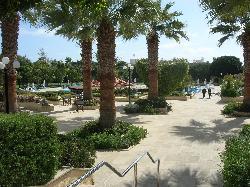 Avanti Hotel pool and gardens