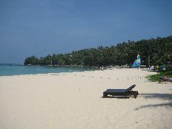 Gorgeous beach - towards Amanpuri