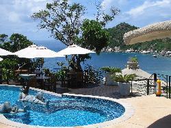 La piscina (molto bella)