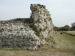 Silchester Roman City Walls and Amphitheatre