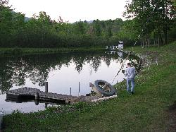 Trout Pond from other side