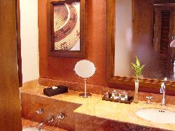 Bathroom at the Westin