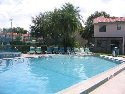 Pool Outside Our Villa