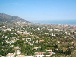 view from mijas