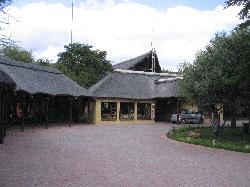 Approach to the Lodge