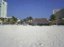 la palapa desde la playa