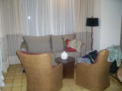 Living room of Rainforest Suite