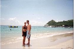 beach at grande