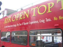 Ayr Open Top Bus Tour
