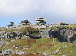 The Hurlers (3 stone circles)