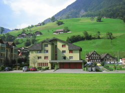 Swiss style houses (18329456)