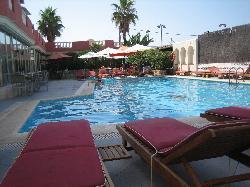 pool area nice but small